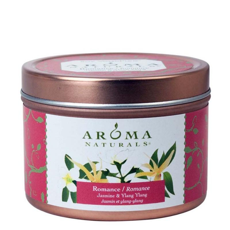 Aroma Naturals Romance Pink Small Tin 2 1/2 X 1 3/4