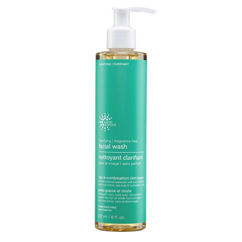 Earth Science Clarifying Fragrance Free Facial Wash 8 Fl. Oz
