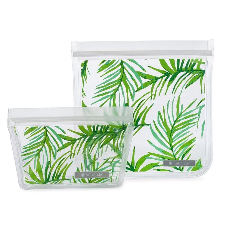Full Circle Kids Palm Leaves Lunch Bag Set