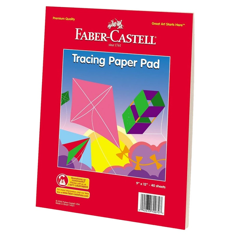Faber Castell Tracing Paper Pad 9 X 12