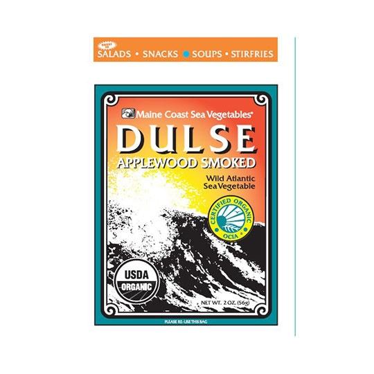 Maine Coast Sea Vegetables Applewood Smoked Dulse Leaf 2 Oz. Bag