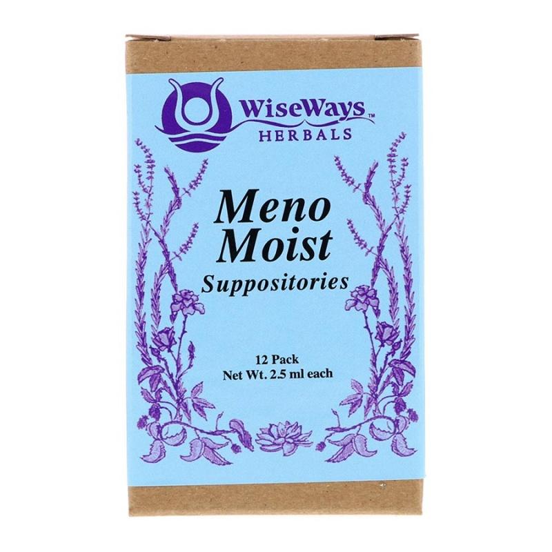 Wiseways Herbals Menomoist Suppositories 12 Pack