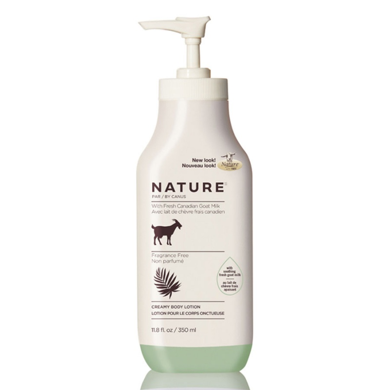 Nature By Canus Fragrance Free Lotion 11.8 Oz.