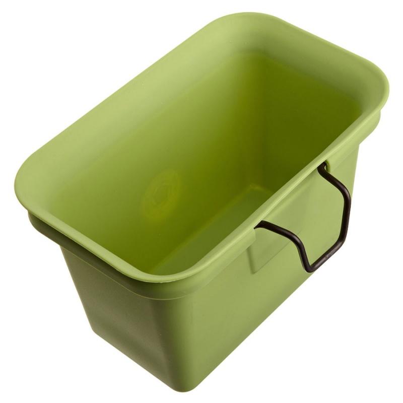 Full Circle Green Scrap Collector & Freezer Compost Bin 8.27 X 5.24 X 5.51