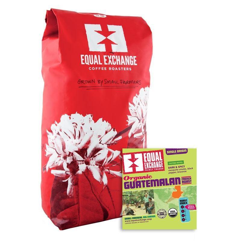 Equal Exchange Organic French Guatemalan Whole Bean Coffee 5 Lb