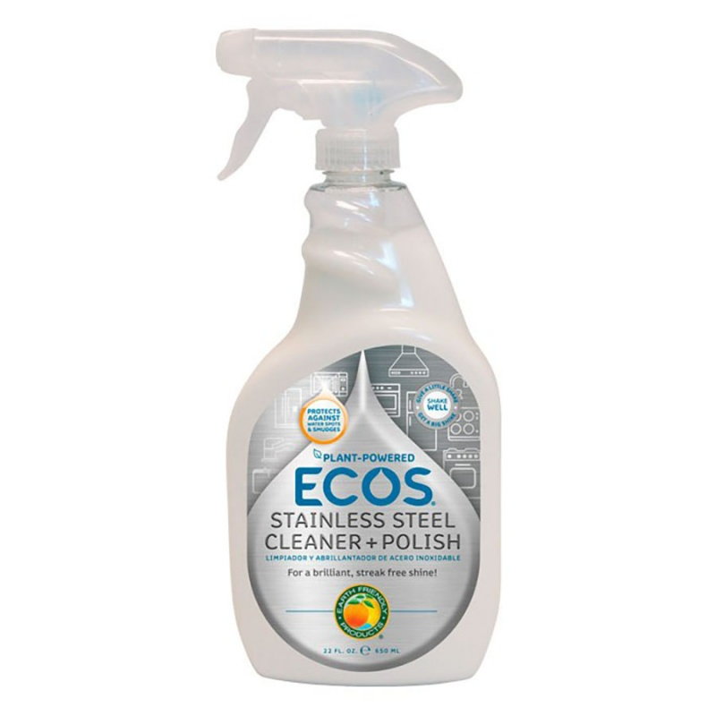 Earth Friendly Products Stainless Steel Cleaner & Polish 22 Oz.