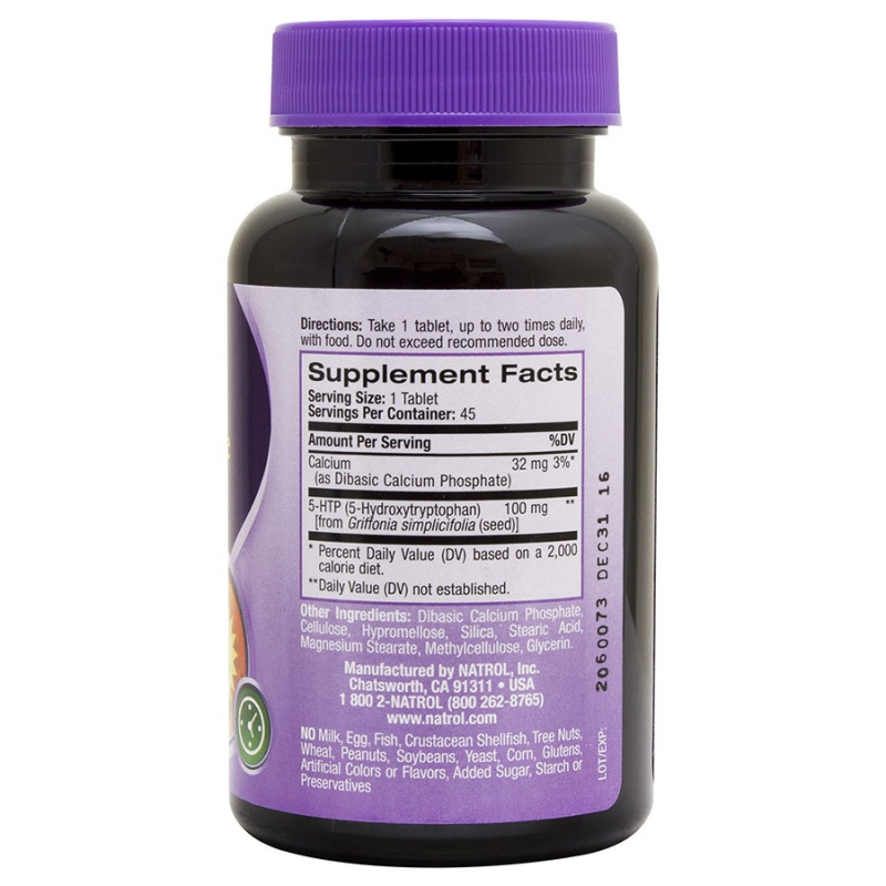 Natrol 5- H T P Stress & Mood Relief Tablets 45 Tablets