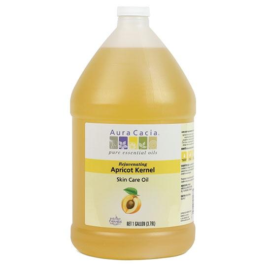 Aura Cacia Apricot Kernel Skin Care Oil 1 Gallon