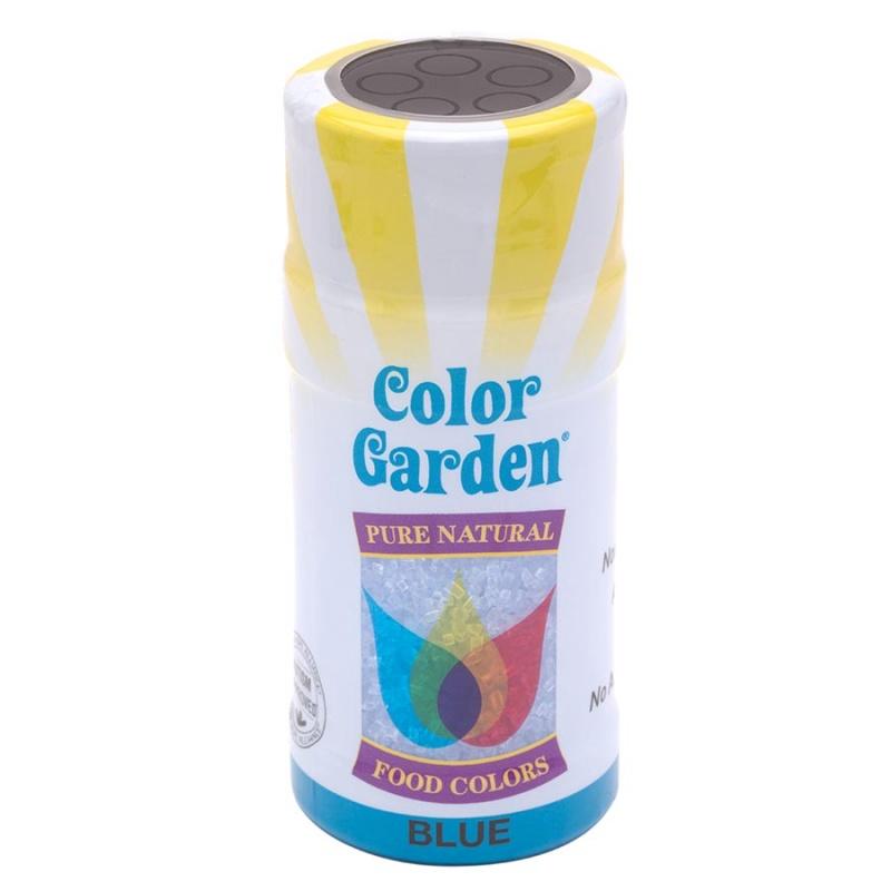 Color Garden Blue Natural Sugar Crystals 3 Oz
