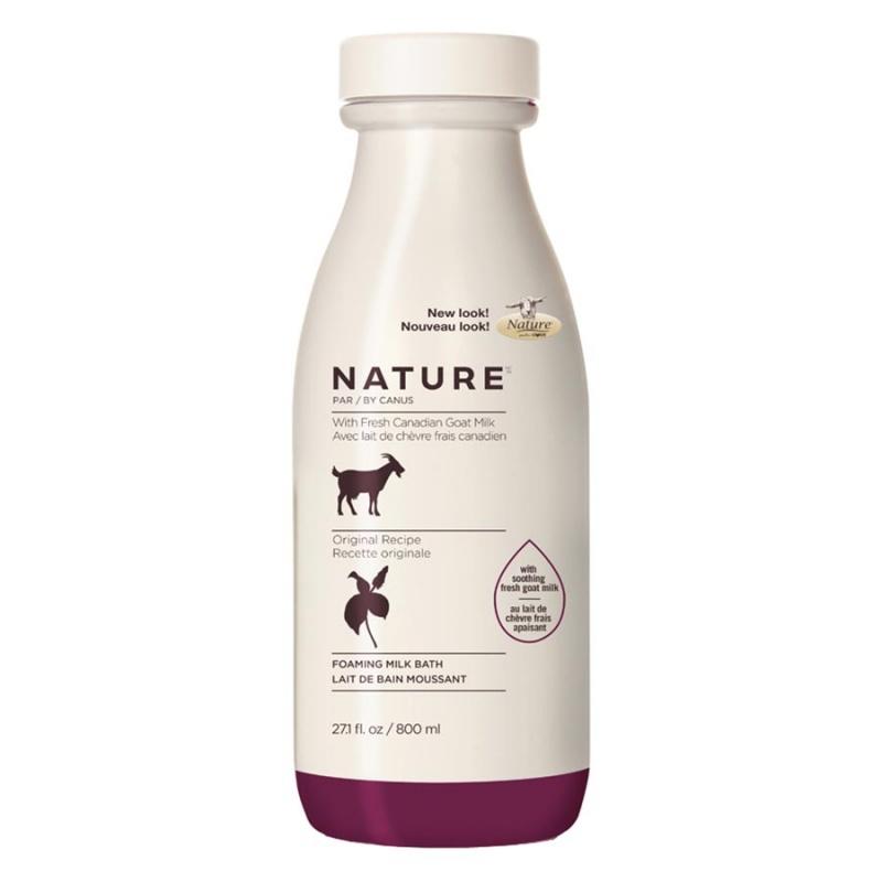 Nature By Canus Original Foaming Milk Bath With Fresh Goat's Milk 27.1 Fl. Oz