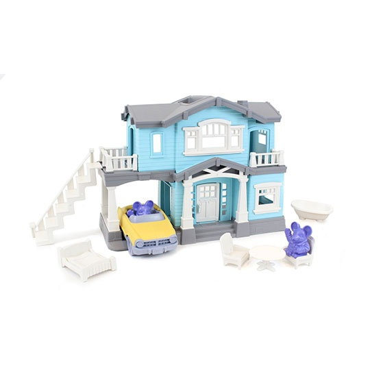 Green Toys Activity House Playset 2 To 6 Years