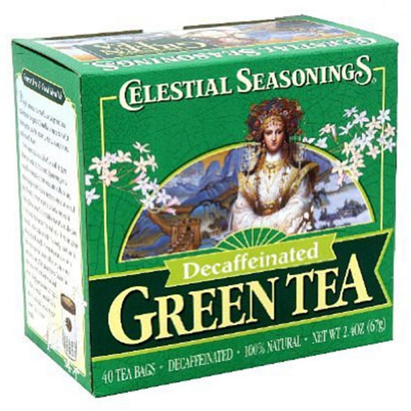 Celestial Seasonings Decaffeinated Authentic Green Tea