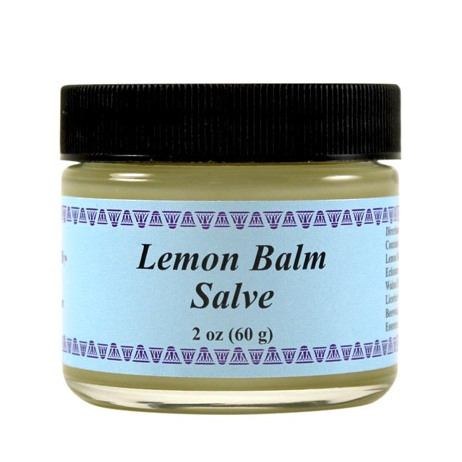 Wiseways Herbals Lemon Balm Salve 2 Oz.
