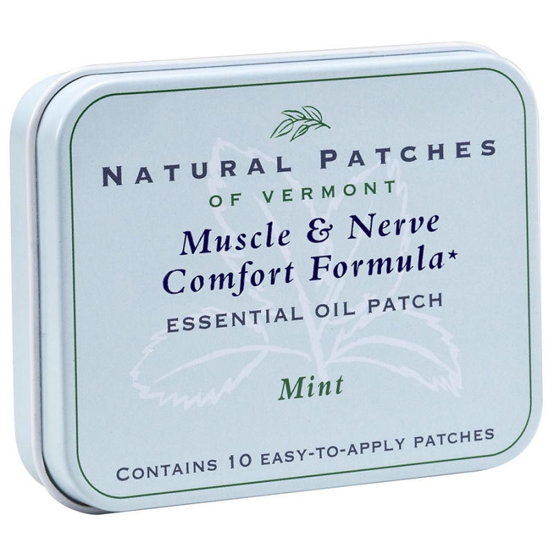 Naturopatch Mint, Muscle & Nerve Comfort Formula