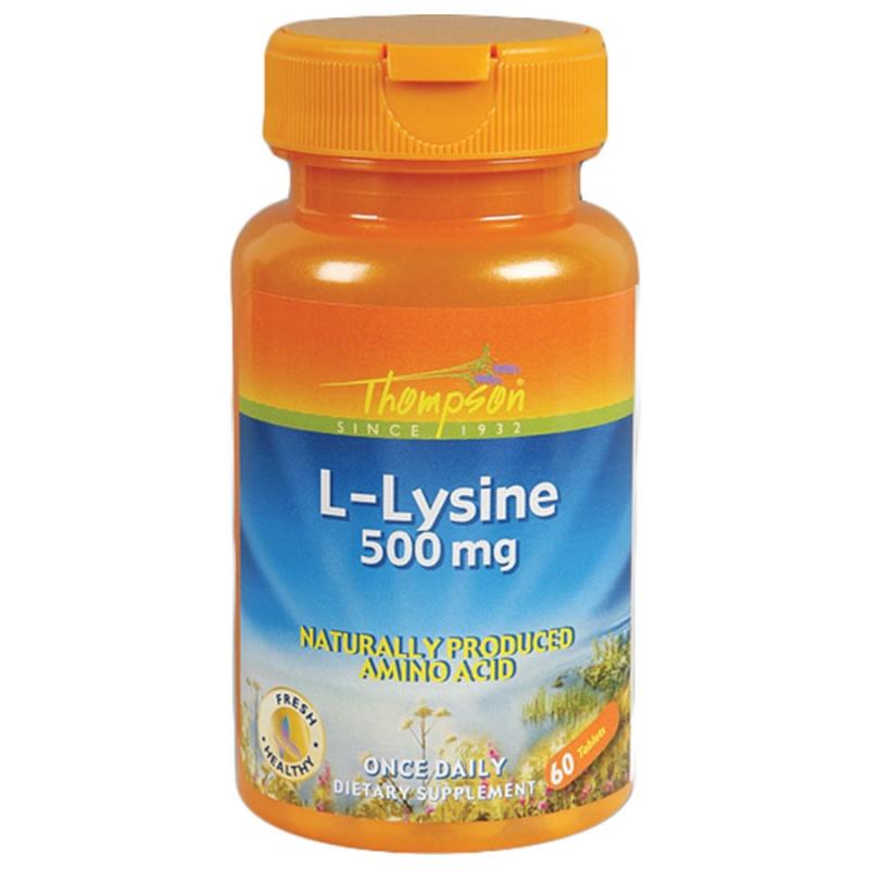 Thompson L- Lysine 60 Tablets