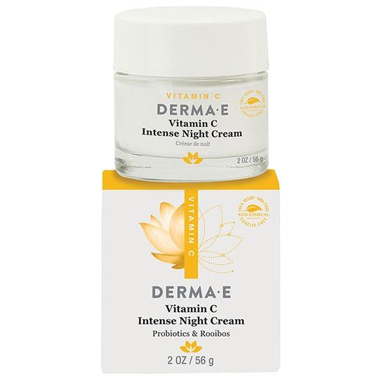 Derma E Vitamin C Intense Night Cream 2 Oz.
