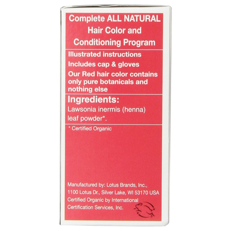 Light Mountain Red Henna Hair Color & Conditioner 4 Oz.