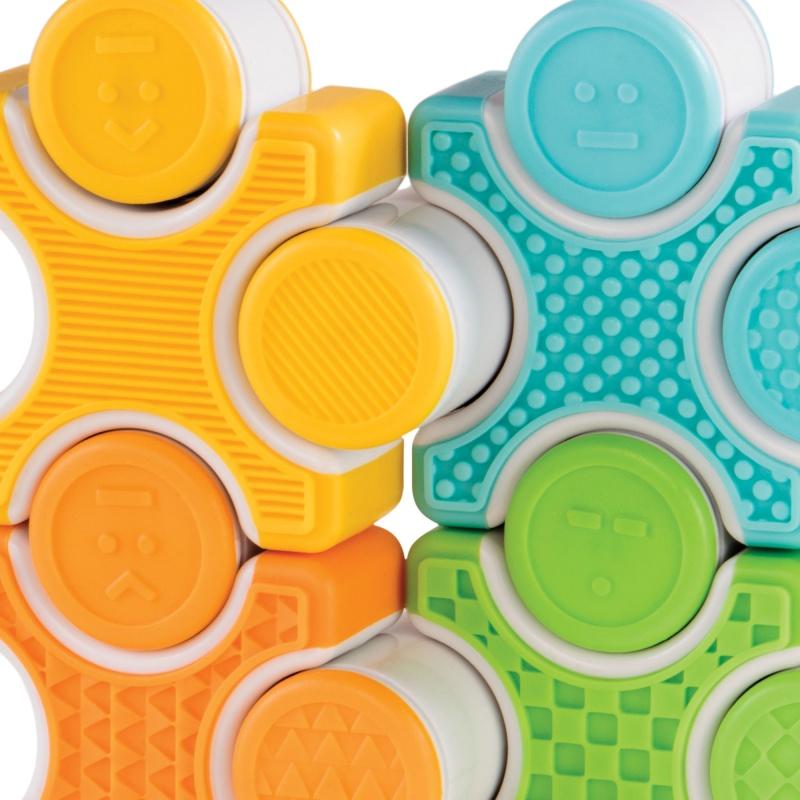 Guidecraft Grippies® Stackers – 16 Piece Set