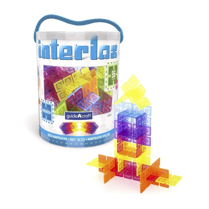 Interlox Squares - 96 Pc. Set