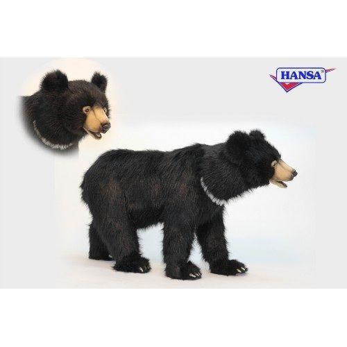 "Black Bear Seat 41""l X 24""h"