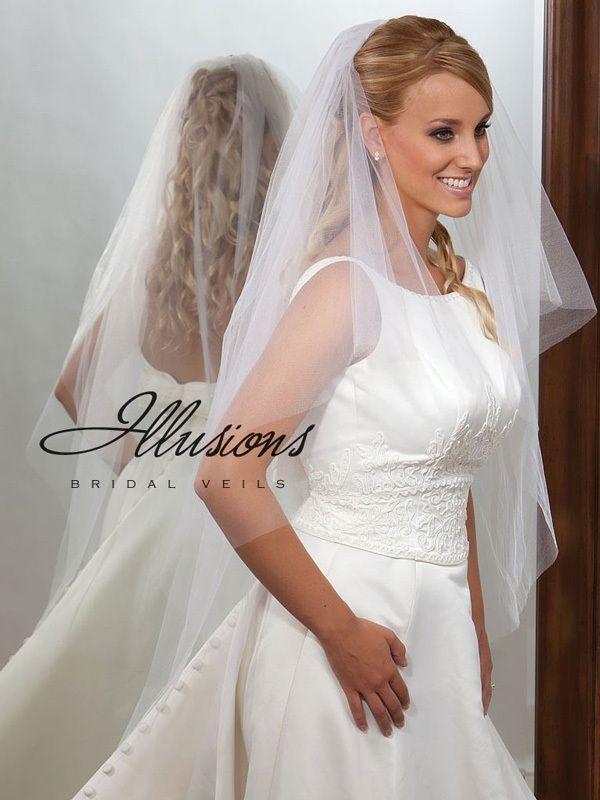 Illusions Bridal Cut Edge Veil C7-452-CT
