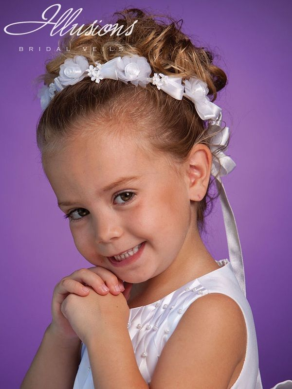 Illusions Bridal Flower Girl and First Communion Accessories 3182