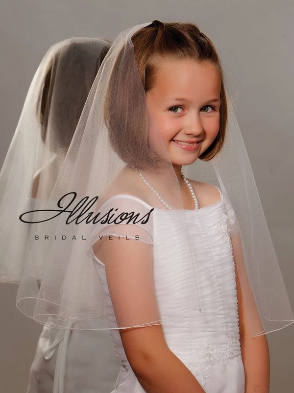 Illusions Bridal Flower Girl and First Communion Veils MFC-20D-C