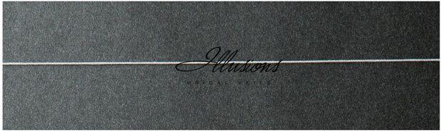 Illusions Bridal Corded Edge Veil S7-302-C: Rhinestone Accent