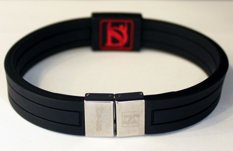 Dr-Ion Resizable Negative Ion Wristband with Clasp of Single Design: 11 Colors