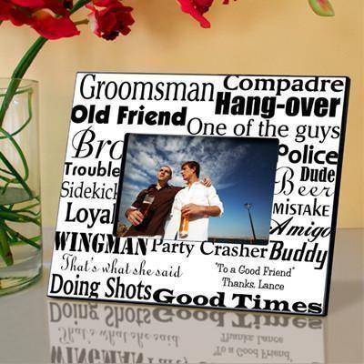 Personalized Groomsman Frame