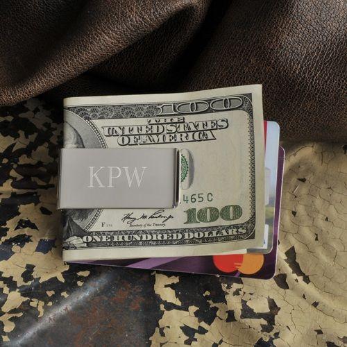 Engraved No Slip Money Clip