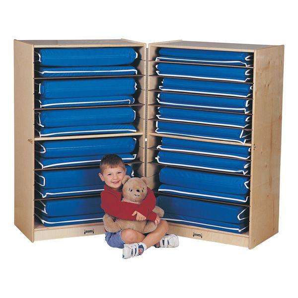 Jonti-Craft®Fold-N-Lock Mat Storage