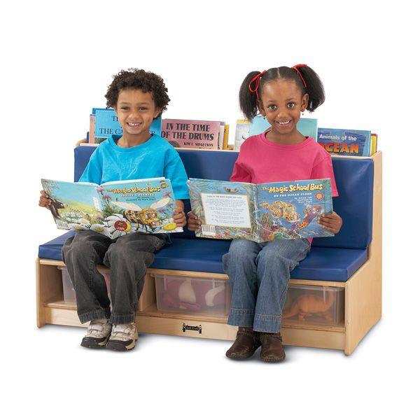Jonti-Craft®Literacy Couch - Blue