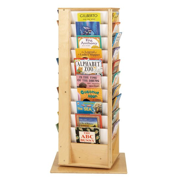 Jonti-Craft®Revolving Large Literacy Tower