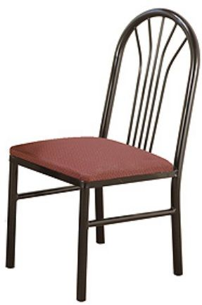 """KFI 3720-WS """"3700"""" Series Cafe Chairs with Wood Seat"""