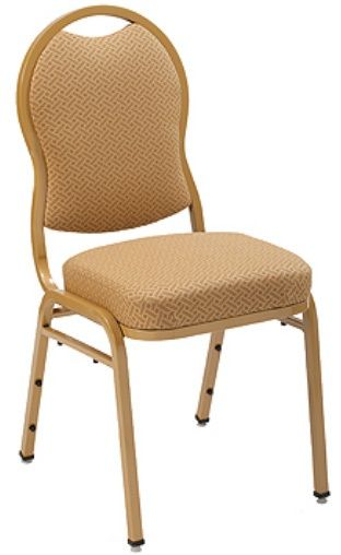 """KFI 1635 """"1630"""" Series Stack Chair with Grade 1 Fabric: 3"""" Seat, Without Arms"""