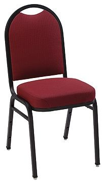 """KFI """"1530"""" Series Stack Chair with Grade 2 Fabric: 3"""" Seat, Without Arms"""