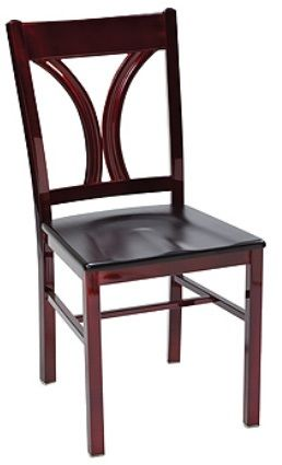 """KFI 3902-US """"3900"""" Series Chair with Upholstered Seat: Without Arms"""