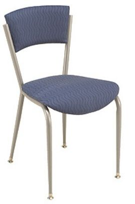 """KFI 3818P-WS """"3800"""" Series Cafe Chairs with Wood Seat: Without Arms"""