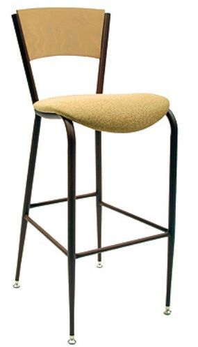 """KFI BR3818C-US """"3800"""" Series Cafe Chair with Upholstered Seat: Without Arms"""