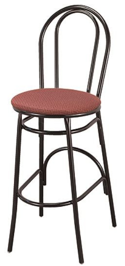 """KFI BR3201-WS """"3200"""" Series Cafe Chair with Wood Seat"""
