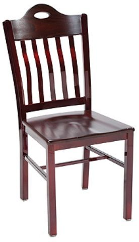 """KFI 3990A-US """"3900"""" Series Chair with Upholstered Seat: Without Arms"""