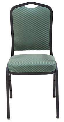 """KFI """"1830"""" Series Stack Chair with Grade 1 Fabric: 3"""" Seat, Without Arms"""