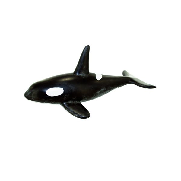 Ceramic Orca Whale, Pack Of 2