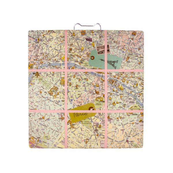 Paris Inspired Romance Memo Board, Pack Of 2