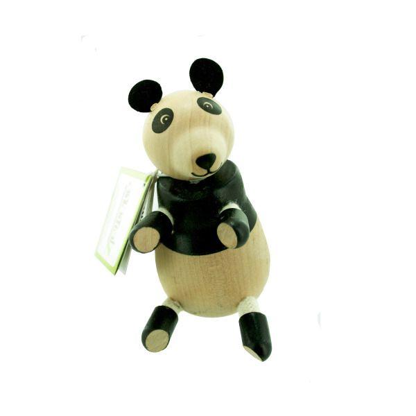 5Pk Wooden Pandas 14108