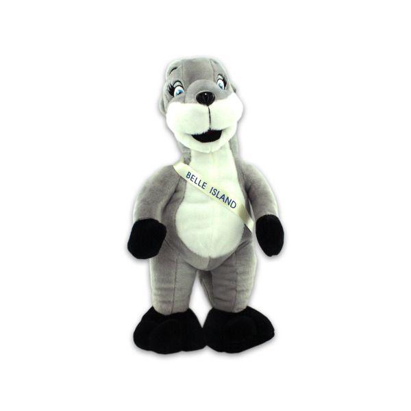 Belle Island Plush Otter, Pack Of 2