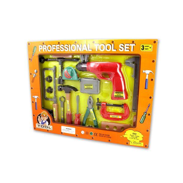 Professional Tool Play Set