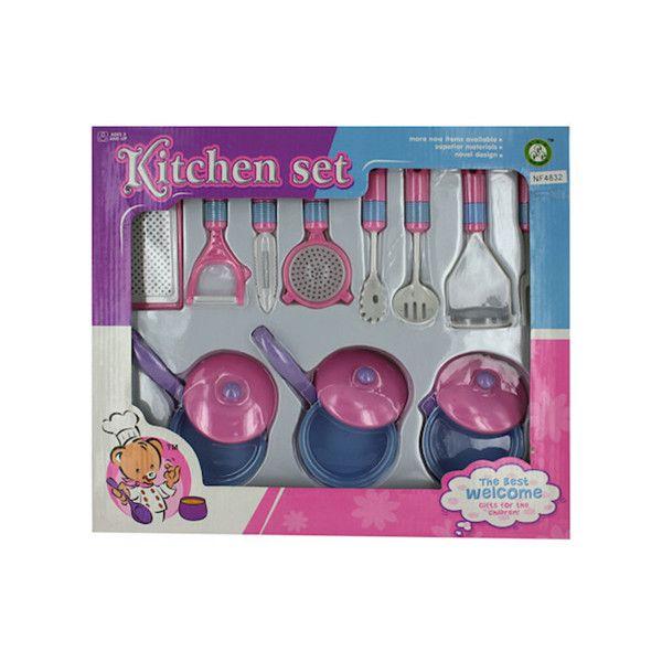 Kitchen Cooking Play Set