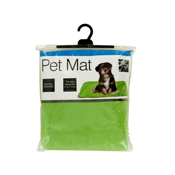Plush Pet Mat With Anti-Slip Bottom, Pack Of 2